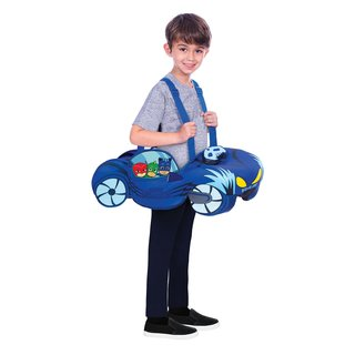 amscan 9904237 Ride On / Umhänge-Kostüm PJ Masks Cat Car