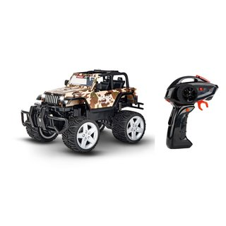 Carrera RC 2,4GHz Jeep® Wrangler Rubicon, camouflage